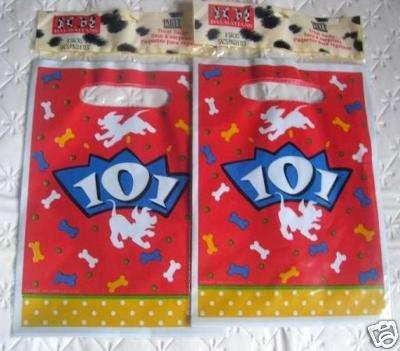(101 Dalmatians Party 8 FAVOR BAGS Treats Supplies)