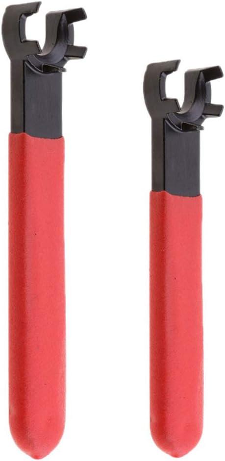 SFX ER40UM Nut Wrench,CNC Collet Chuck Nut ER40 Spanner,Steel+Rubber Material