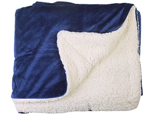 Simplicity Faux Fur Throw Blanket Luxury Lambswool Blanket Throw 60