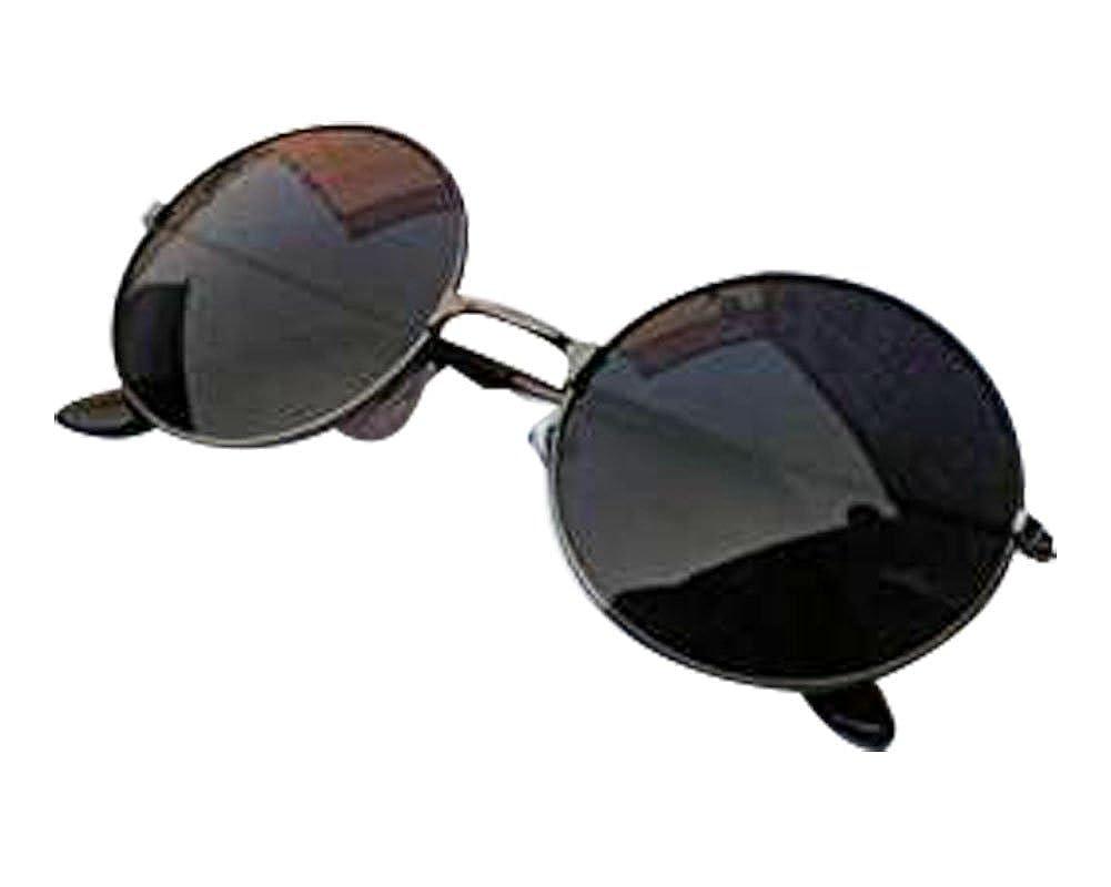 Style 1 2014 New Vintage Retro Men Women Round Metal Frame Sunglasses Glasses Eyewear