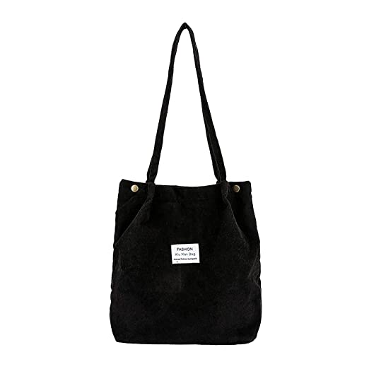 c5a54a8277b8 Amazon.com: Women's Shoulder Bag Corduroy Pure Color Handbag Satchel ...