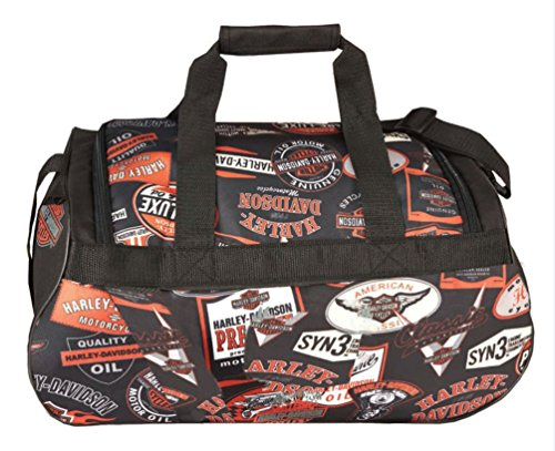 Harley Davidson Logo Sport Duffel, Black for sale  Delivered anywhere in USA