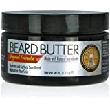 Best Beard Butter for Men - Made With Oils, Butters and Nourishing Extracts - Smells Great - Eliminates Dry & Itchy Skin - Citrus Scented Mens Beard Conditioner / 120ml by Beard Guyz