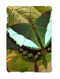 Fireingrass Shock-dirt Proof Emerald Swallowtail Case Cover Design For Ipad 2/3/4 - Best Lovers