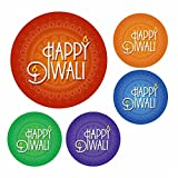 "Our 35mm Happy Diwali Festival Of Light Celebration Stickers are a great way of supporting and celebrating the Ancient Hindu Festival. Diwali (or Deepavali, the ""festival of lights"") is an ancient Hindu festival celebrated in autumn every year. Deepa..."