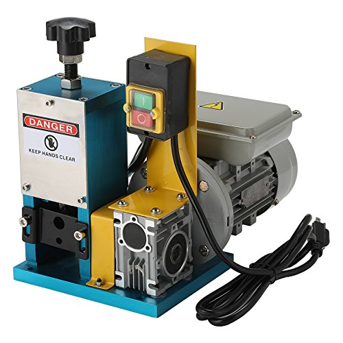 CO-Z Automatic Motorized Electric Wire Stripping Machine Portable Scrap Cable Stripper for Scrap Copper Recycling (Best Electrical Wire Stripping Tool)