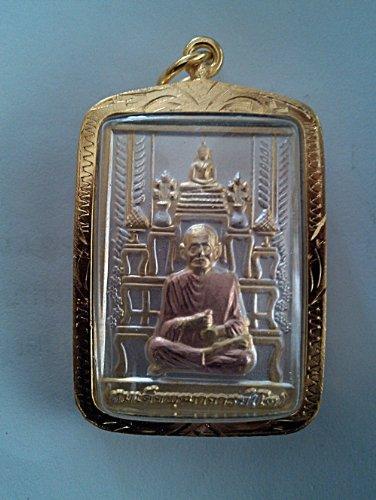 Rare!! Lp Toh Chin Banchorn 3 King Wat Rakang Thai Amulet