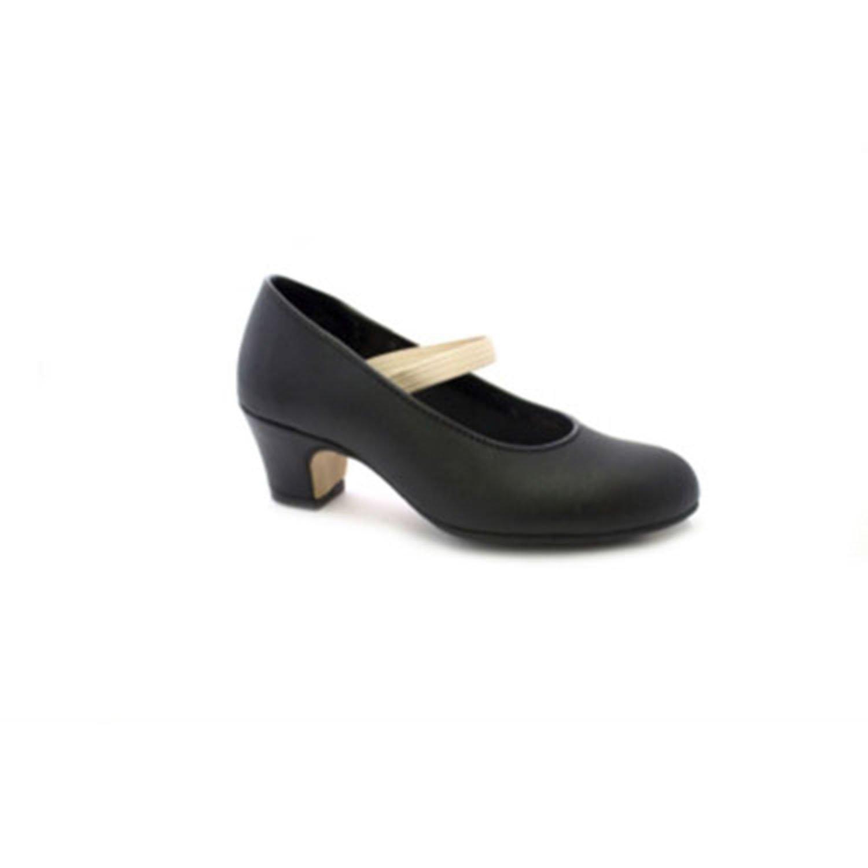 CALZADOS MALACA - Zapato - Malaca 10 Flamenca Profesional Negro, Talla: 34