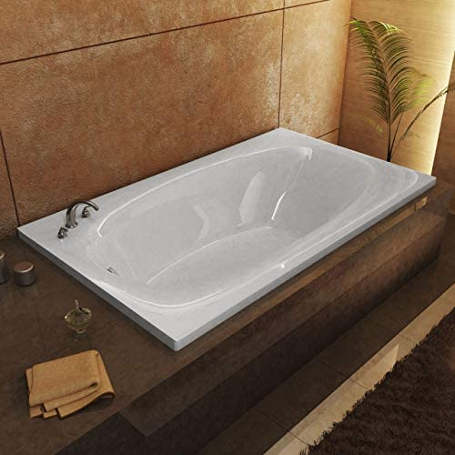 Atlantis Whirlpools 3666P Polaris 36 x 66 Rectangular Soaking Bathtub