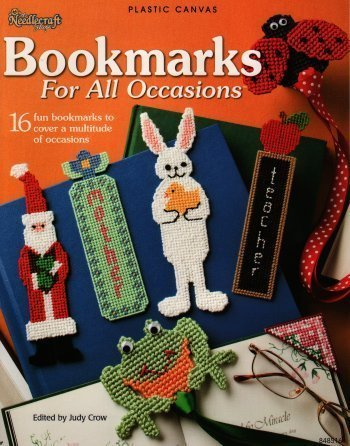 Bookmarks For All Occasions Plastic Canvas Pattern Amazon