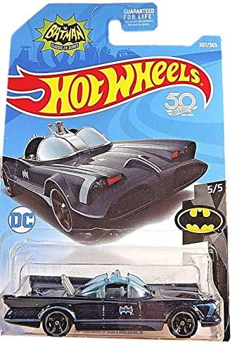 [해외]Hot Wheels Batman 55 BlackBlue TV Series Batmobile 307365 50TH Anniversary Card / Hot Wheels Batman 55, BlackBlue TV Series Batmobile 307365 50TH Anniversary Card
