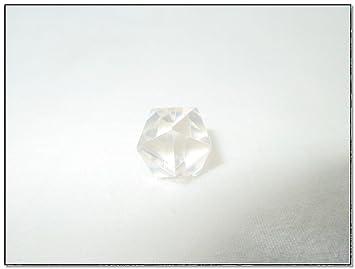 Jet Beautiful Crystal Quartz Icosahedron Gemstone Sphatik Original Natural Authentic Good Luck Free Booklet