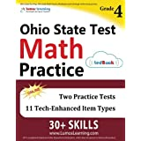 Ohio State Test Prep: 4th Grade Math Practice Workbook and Full-length Online Assessments: OST Study Guide