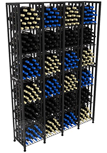 VintageView Case & Crate Metal Wine Rack - Full Height - Capacity 384 Bottles by VintageView®