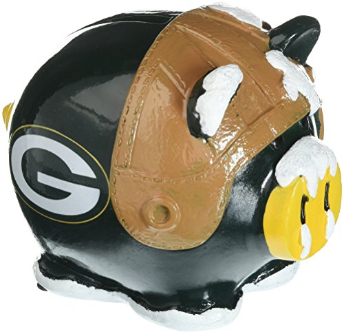(Green Bay Packers Resin Small Thematic Piggy)