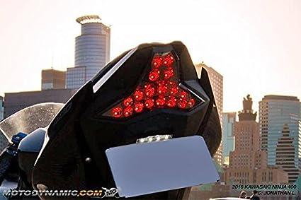 Amazon.com: Kawasaki Ninja 400 Z400 Integrated Sequential ...