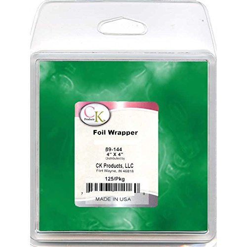 CK Products 89-144K Foil Wrappers, 4