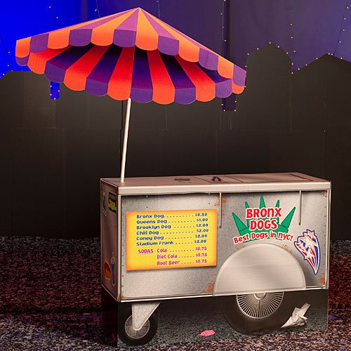 (Big City Hot Dog Stand Party Prop)