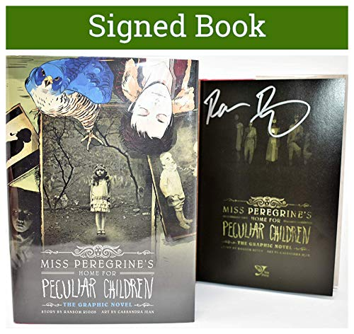 Miss Peregrine's Home for Peculiar Children: The Graphic Novel AUTOGRAPHED Ransom Riggs (SIGNED BOOK) COA