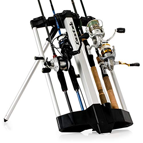 (Castek Rod Caddy Fishing Rod Rack and Carrier)