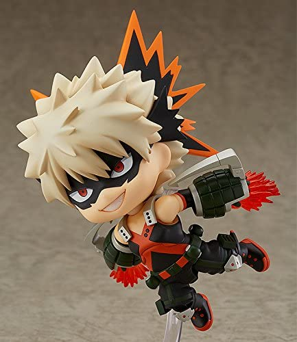 NEW My Hero Academia Bakugo Katsuki Nendoroid 705 Japanese Anime Figure with Box