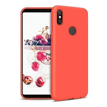 Funda para Xiaomi Redmi S2 Carcasa Silicona Xiaomi Redmi S2, Silicona Gel TPU Case Goma Colores del Caramelo Anti-Rasguño Resistente Ultra Suave ...