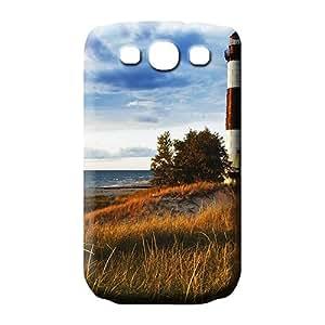 samsung galaxy s3 Dirtshock Scratch-proof skin phone back shell wonderful lighthouse on lake michigan