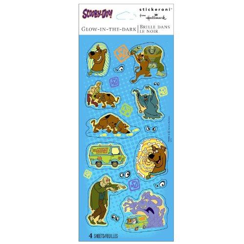 Hallmark - Scooby Doo Glow in the Dark Sticker Sheets