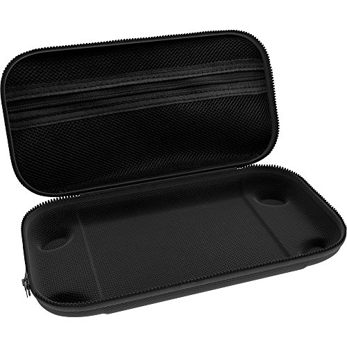 The Nintendo Switch Case [29 Game Holder] Premium Quality Protective Portable Hard Carry Case Pouch for Nintendo Switch Console & Accessories - Best Game Travel Case Black