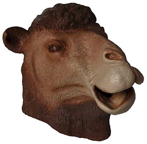 Adult Latex Full Head Camel Costume -