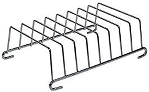 Skewers Rack Plate Gripper Airfryer 5.8Qt Toast Rack Stainless Air Fryer Accessories for Philips Cosori Gowise 5.3Qt