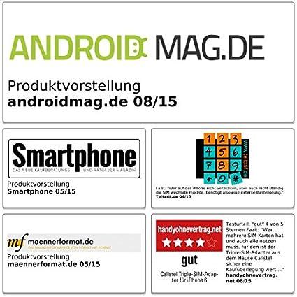 Was Ist Eine Triple Sim Karte.Callstel Triple Sim Card Adapter Triple Sim Adapter Für Iphone 6 Triple Sim Karten Adapter