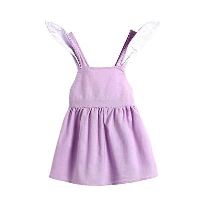 SamMoSon - Falda - para bebé niña Violeta 6 Meses: Amazon.es: Ropa ...