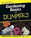 img - for Gardening Basics For Dummies book / textbook / text book