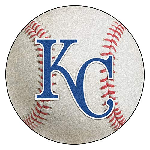 FANMATS MLB Kansas City Royals Nylon Face Baseball Rug