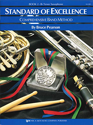 W22XB - Standard of Excellence Book 2 B-flat Tenor Saxophone (Standard of Excellence - Comprehensive Band Method) (Sac Sheets)