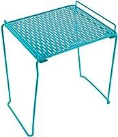 Five Star Organizador de casillero, estante, extra alto, soporta hasta 45.4kgSe adapta a casilleros de 30.5 cm, color puede puede variar (81068), Verde azulado
