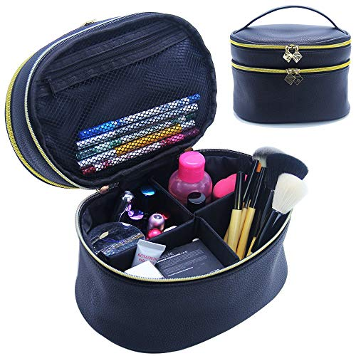 MONSTINA Cosmetic Adjustable Compartments Organizer