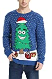 Product review for Daisyboutique Men's Christmas Tree Sweater Cute Ugly Pullover