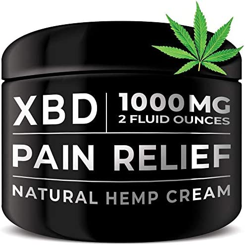 Pain Relief Hemp Cream Topical product image