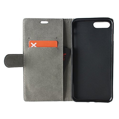 BeCool® - Housse étui [portefeuille] iPhone 7 Plus, [Fonction support], protège et s'adapte a la perfection a ton Smartphone. Elegan Wallet. Essaim de papillons colorés