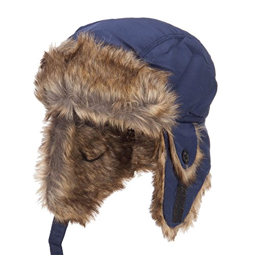 Youth Trapper Hat - Blue OSFM