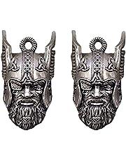De bewaker van de Viking-god van Odin rijdt op een bel om pech te verdrijven, Odin Viking God Bravo Bell, Gremlin Guardian Ride Bell, Biker Gift, Good Luck Charm