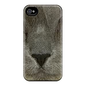 HivFkAk7184ewRyq Case Cover Protector For Iphone 4/4s Kitty Close Up Case