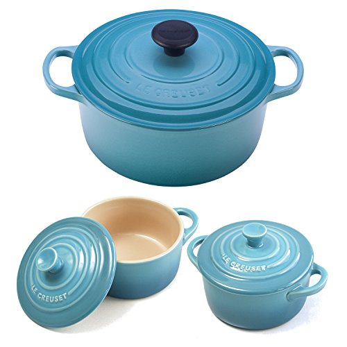 le creuset wide round french oven - 8