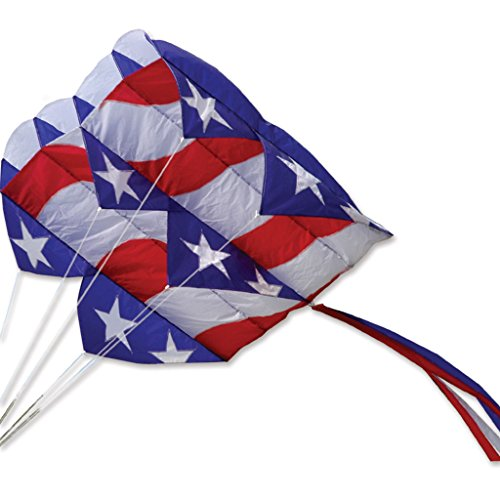 Flag Kite - Parafoil 7.5 Kite - Patriotic