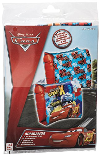 Disney Cars Armbands Kids Swimming Armband 3-6 Years, Official Licensed