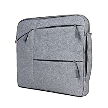 HAOCOO Laptop Bag 13.3 inch,Waterproof Messenger Bag Hand Bag Briefcase for Macbook Pro/Air/Computer/Asus/Notebook/Gaming Laptop/Lenovo/Acer Laptop/Chromebook etc. (13.3 inch, Gray)
