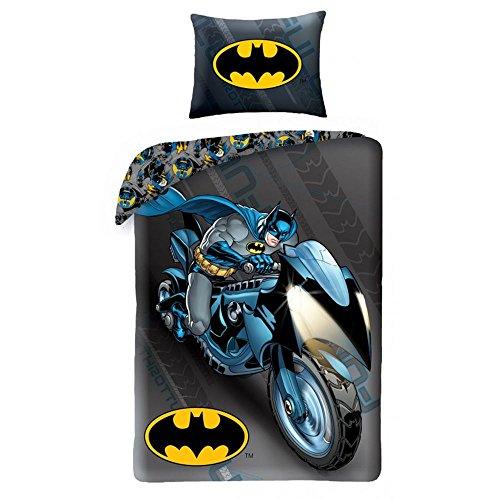 Halantex Batman Batcycle Single Duvet Cover and Pillowcase Set