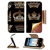 imperial armband iphone 5 - Liili Premium Apple iPhone 5 iphone 5S Flip Pu Leather Wallet Case unique ornamental heraldic crown set iPhone5 Photo 11638886 Simple Snap Carrying